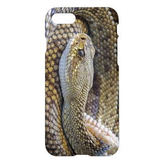 Klapperschlangen-Foto iPhone 8/7 Hülle