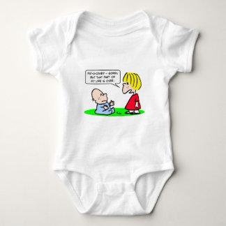 Klaps-einkuchen Teil Leben vorbei Baby Strampler