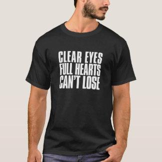 Klare Augen, volle Herzen, können Texas-Fußball T-Shirt