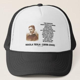Klare Denker Nikola Teslas gesund offenbar denken Truckerkappe
