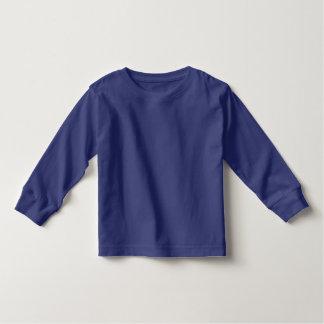Klare Farben des Kleinkind-lange Hülsen-T - Shirt