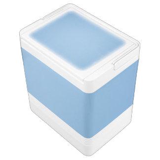 Klare Fotoschablone des blauen Himmels Kühlbox