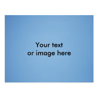 Klare Fotoschablone des blauen Himmels Postkarte