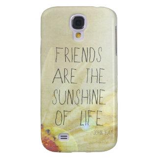 Klare Hüllen… Sonnenschein u. Freundschaft der Galaxy S4 Hülle