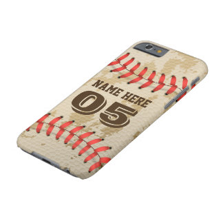 Klarer cooler Vintager Baseball Iphone 6/6s Fall Barely There iPhone 6 Hülle