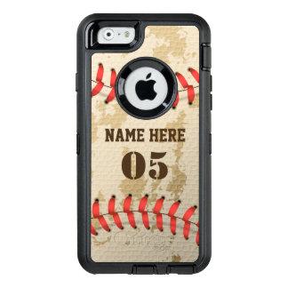 Klarer cooler Vintager Baseball Iphone 6 Otterbox OtterBox iPhone 6/6s Hülle