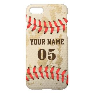 Klarer cooler Vintager Baseball iPhone 8/7 Hülle