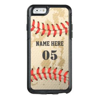 Klarer cooler Vintager Baseball OtterBox iPhone 6/6s Hülle