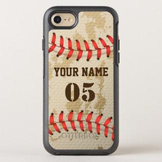 Klarer cooler Vintager Baseball OtterBox Symmetry iPhone 8/7 Hülle