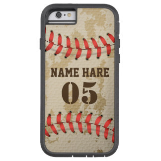 Klarer cooler Vintager Baseball-starker Tough Xtreme iPhone 6 Hülle