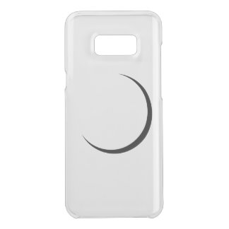 Klarer minimaler Mobiltelefonkasten Get Uncommon Samsung Galaxy S8 Plus Hülle