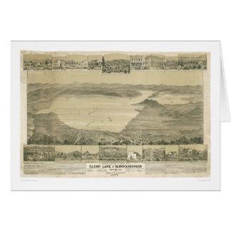 Klarer See, panoramische Karte CA (0289A)