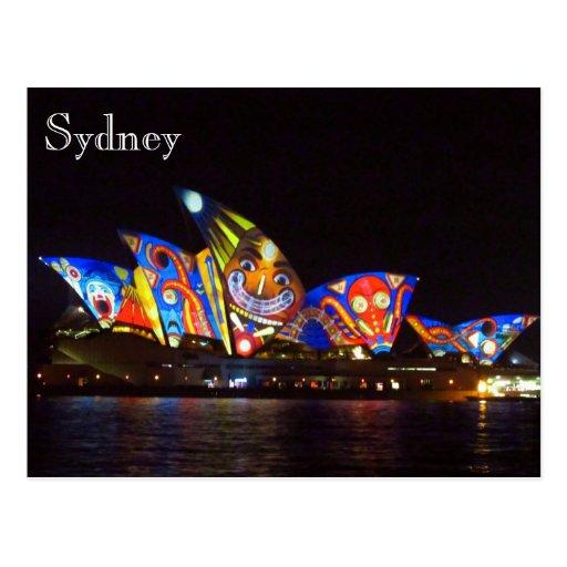 klarer Spaß des Opernhauses Postkarten
