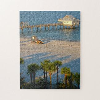 Klarer Wasser-Strand Floridas Puzzle
