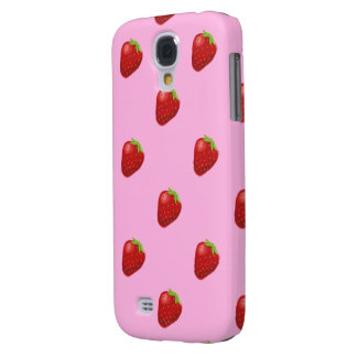 klares starkes des Erdbeermusters HTC Galaxy S4 Hülle