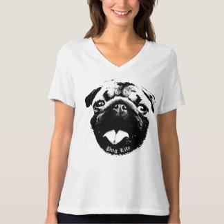 Klares u. einfaches Mops-Leben-Lächeln T-Shirt