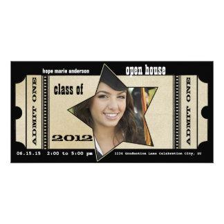 Klasse Abschluss PARTY der OFFENES Haus-Einladung Karte