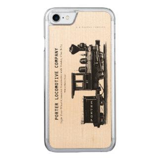 Klasse B-T4 H K Porter Locomotive Company Carved iPhone 8/7 Hülle