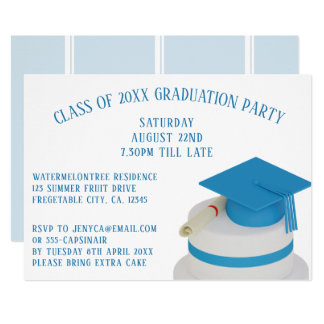 Klasse der Abschluss-Party Einladungen