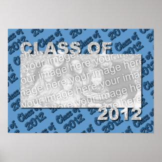 Klasse des 2012 herausgeschnittenen Foto-Rahmens -