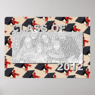Klasse des 2012 herausgeschnittenen Foto-Rahmens - Posterdrucke