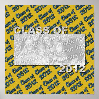 Klasse des 2012 herausgeschnittenen Foto-Rahmens - Plakate