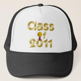 Klasse Goldjustierbaren Hutes 2011 Truckerkappe