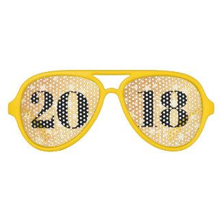 Klasse Goldmutigen Typografie-Absolvent 2018 Sonnenbrille