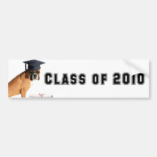 Klasse graduierten Autoaufklebers 2010 des Boxers Autoaufkleber