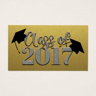 Klasse Karten der Gold-2017 und Silber-