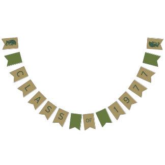 Klasse von 1977 40. Wiedersehen-Grün-u. Goldtrojan Wimpelketten