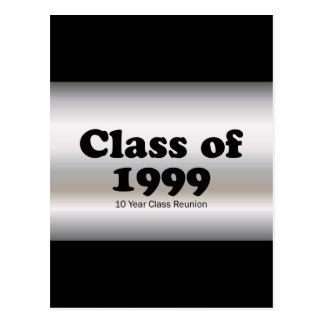 Klasse von 1999 10 Jahr-Wiedersehen Postkarte
