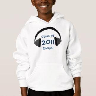 Klasse von 2011 Felsen! Hoodie