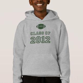 Klasse von 2012 Fußball - Grün 1 Hoodie