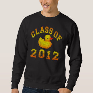 Klasse von 2012 Gummi Duckie - Gelb/Orange Sweatshirt