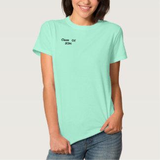 Klasse von 2014 besticktes T-Shirt