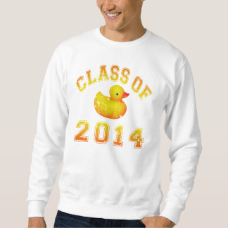 Klasse von 2014 Gummi Duckie - Orange Sweatshirt