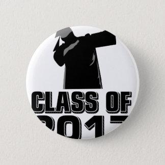 Klasse von 2017 runder button 5,1 cm