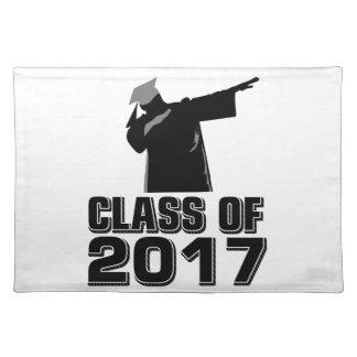 Klasse von 2017 stofftischset