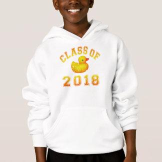 Klasse von 2018 Gummi Duckie orange/Rot 2 Hoodie