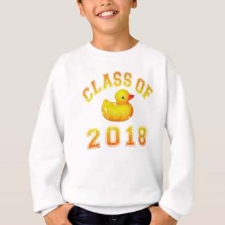 Klasse von 2018 Gummi Duckie orange/Rot 2 Sweatshirt