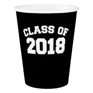 Klasse von 2018 pappbecher
