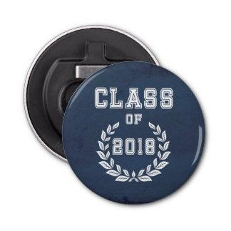 Klasse von 2018 runder flaschenöffner