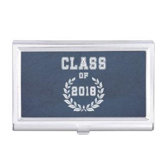 Klasse von 2018 visitenkarten etui