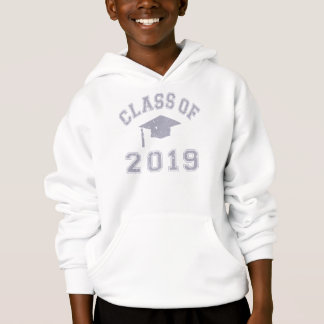 Klasse von 2019 Abstufung - Grau Hoodie