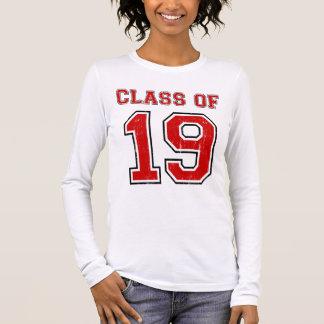 Klasse von 2019 langarm T-Shirt