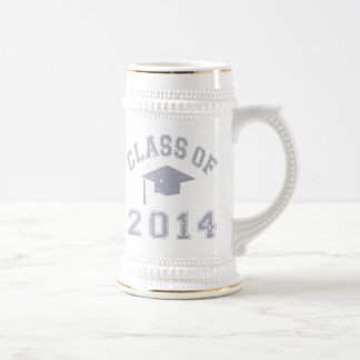 Klasse von 2020 Abschluss - Grau Bierglas