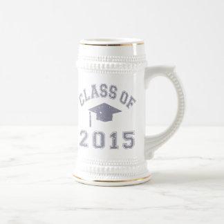 Klasse von Abschluss 2015 Bierglas