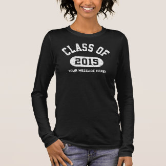 Klasse von Abschluss 2015 Langarm T-Shirt
