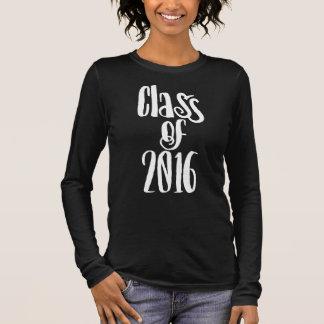 Klasse von Abschluss 2016 Langarm T-Shirt